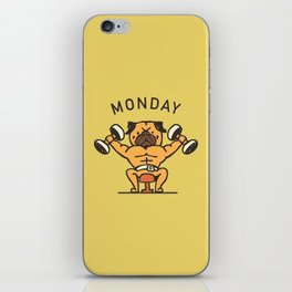 Monday iPhone Skin
