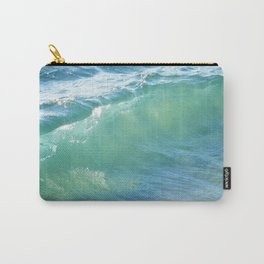 Teal Surf Carry-All Pouch