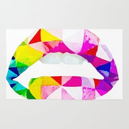 Labios geometricos Rug
