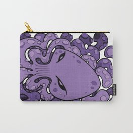 Octopus Squid Kraken Cthulhu Sea Creature - Ultra Violet Carry-All Pouch