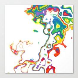 Rainbow Spurt 05 Canvas Print