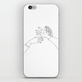 when you want to kiss, but not with anyone iPhone Skin
