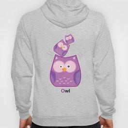Triple Owl Family Hoody