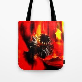 Mohnblüte Tote Bag