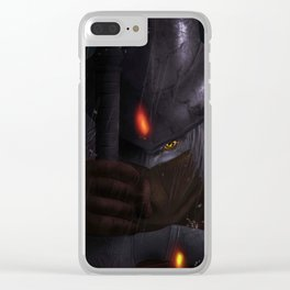 Abyss Watcher Clear iPhone Case