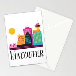 Vancouver Coal Harbour Stationery Cards