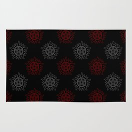 Anti Possession Pattern Dual Glow Rug
