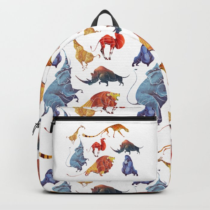 African animals Backpack
