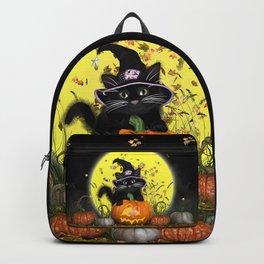 Pumpkin Kitty Backpack