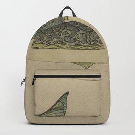 Green Fish Backpack