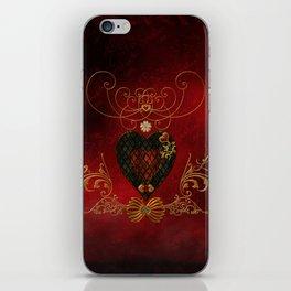 Wonderful heart iPhone Skin