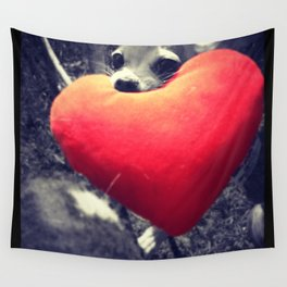 Puppy Love Wall Tapestry