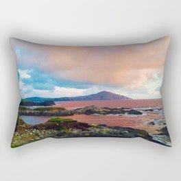 Ocean and Sun Rectangular Pillow