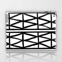 Brush and Ink II Mudcloth Pattern Laptop & iPad Skin