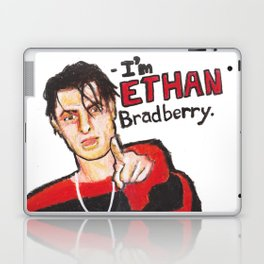 I'M ETHAN BRADBERRY H3H3 meme in oil pastel Laptop & iPad Skin