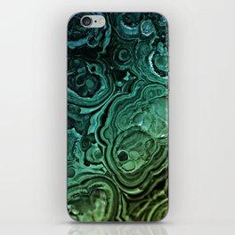 MALACHITE GREEN iPhone Skin