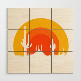 mucho calor Wood Wall Art