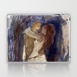 Death and Life by Edvard Munch Laptop & iPad Skin