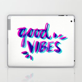 Good Vibes – Magenta & Cyan Laptop & iPad Skin