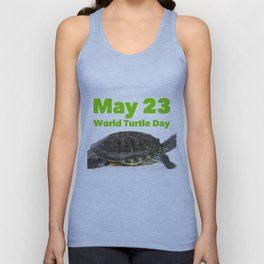 World Turtle Day - May 23 Unisex Tank Top