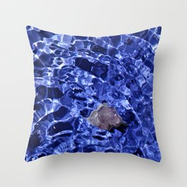 Upward Amethyst Vibes Throw Pillow