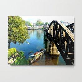 Bridge over troubled water Metal Print