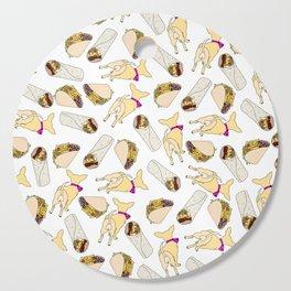 Fast Food Dog Butt Cutting Board
