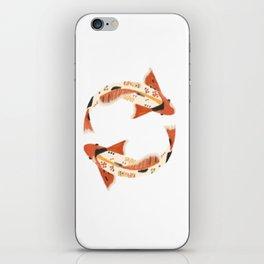 koi fish iPhone Skin