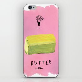 Butter iPhone Skin