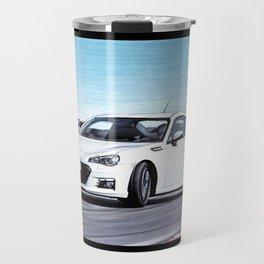 TOYOTA GT86 AUTOMOBILE DRIFTING ON SUNNY TRACK Travel Mug