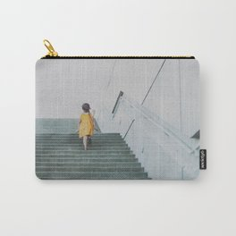 A girl in a yellow dress Carry-All Pouch