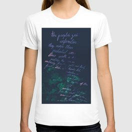 """""""Conquest of the Useless"""" by Werner Herzog Print (v. 10) T-shirt"""