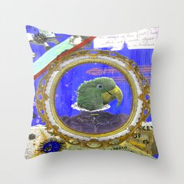 "Katherine ""Kiki"" Beaumont Throw Pillow"