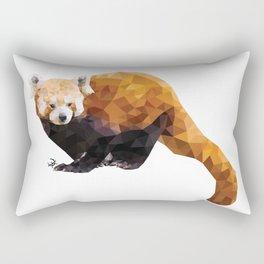 POLYGON RED PANDA Rectangular Pillow