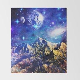 Mountain Stars Throw Blanket