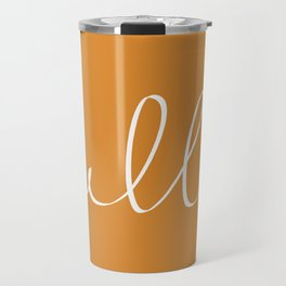 Hello, Pumpkin Travel Mug