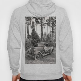 Buck Nasty's Moonshine Model A Ford Vintage Truck Skeleton Hoody