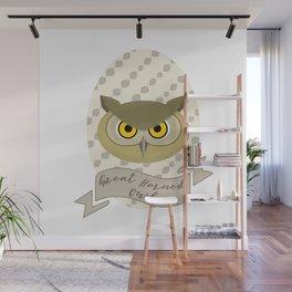 Señora Owl Wall Mural