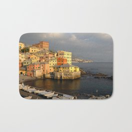 Marina bay, Boccadasse, Genoa, Italy. Bath Mat