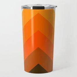 Golden Thick Angle Travel Mug