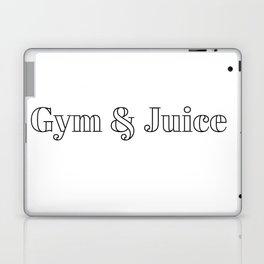 gym & juice Laptop & iPad Skin