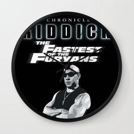 The Chronicles of Riddick; The Fastest of the Furyans Wall Clock