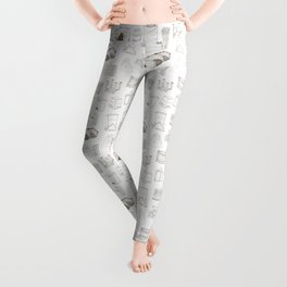 Cover, Contain, COMPOST- 1 of 3 Leggings
