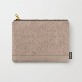 Abstract solid beige pattern . Carry-All Pouch