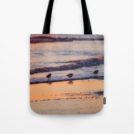 Colorful Pipers Tote Bag