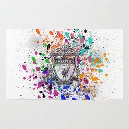 Liverpool Watercolor Rug