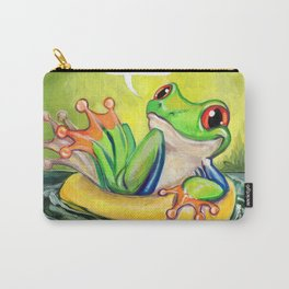 Lazy River Frog Carry-All Pouch