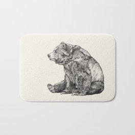 Bear // Graphite Bath Mat