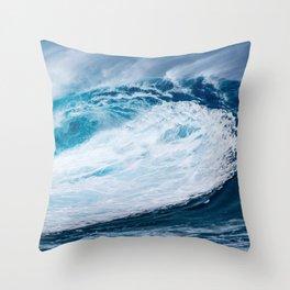 Wave Wave Throw Pillow