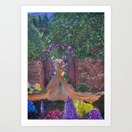 Gated Garden Art Print